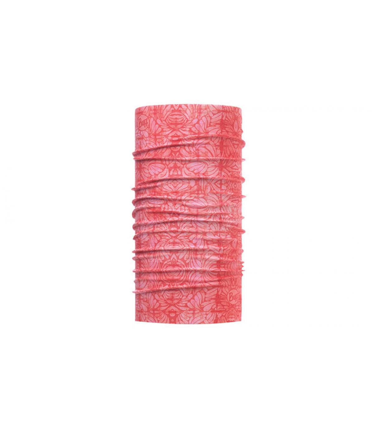 Buff roze gedrukt