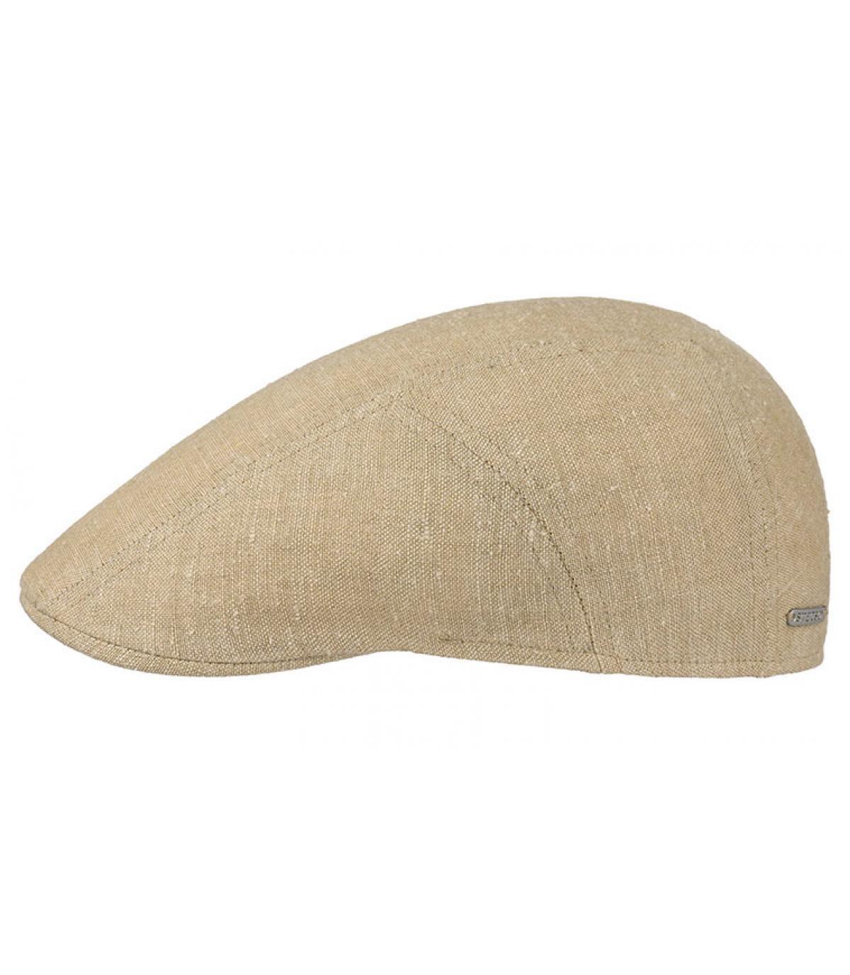 Details Ivy cap llinen silk beige - afbeeling 2