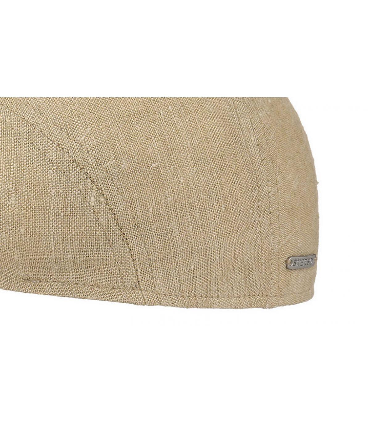 Details Ivy cap llinen silk beige - afbeeling 3