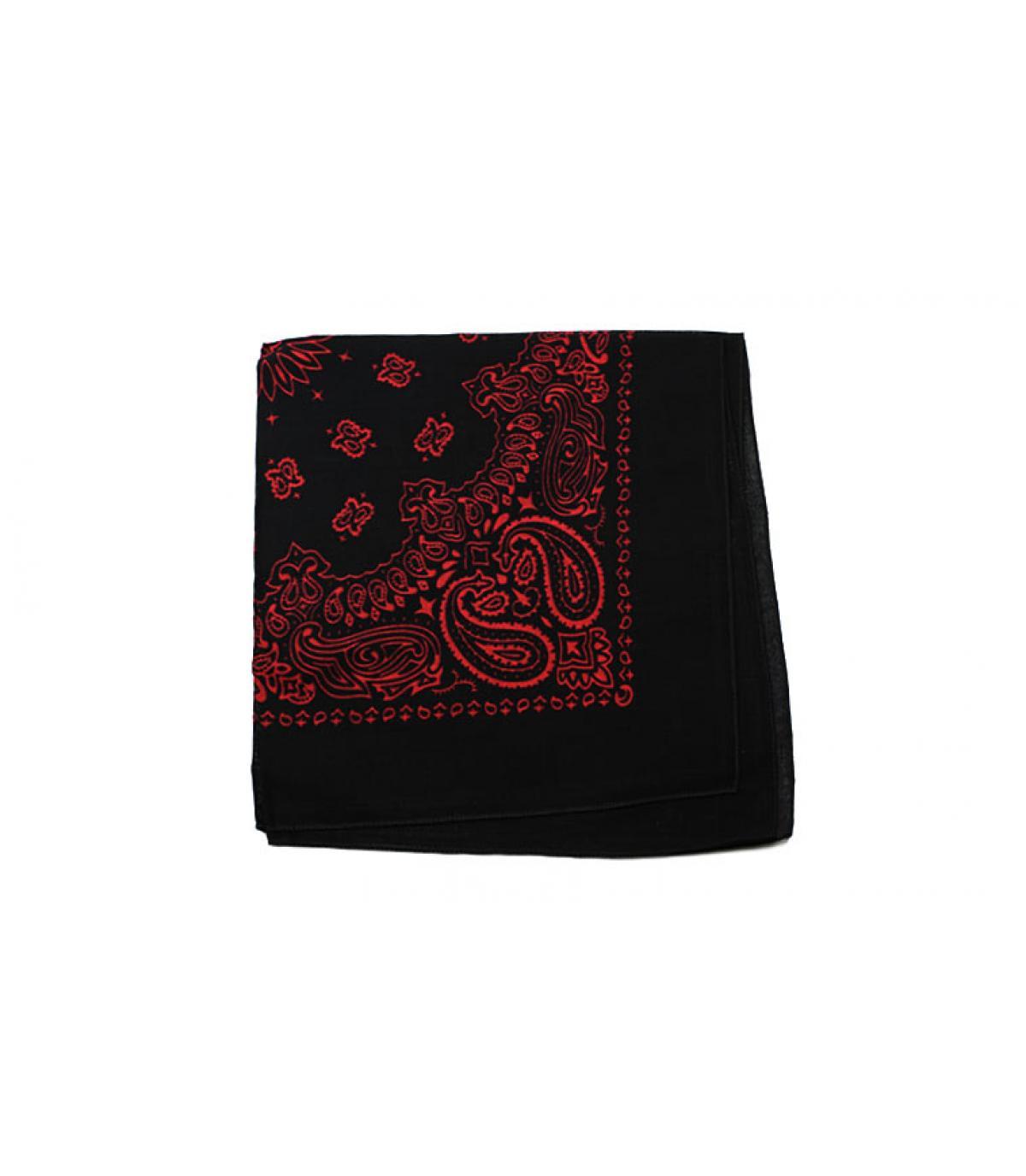 rood zwarte bandana