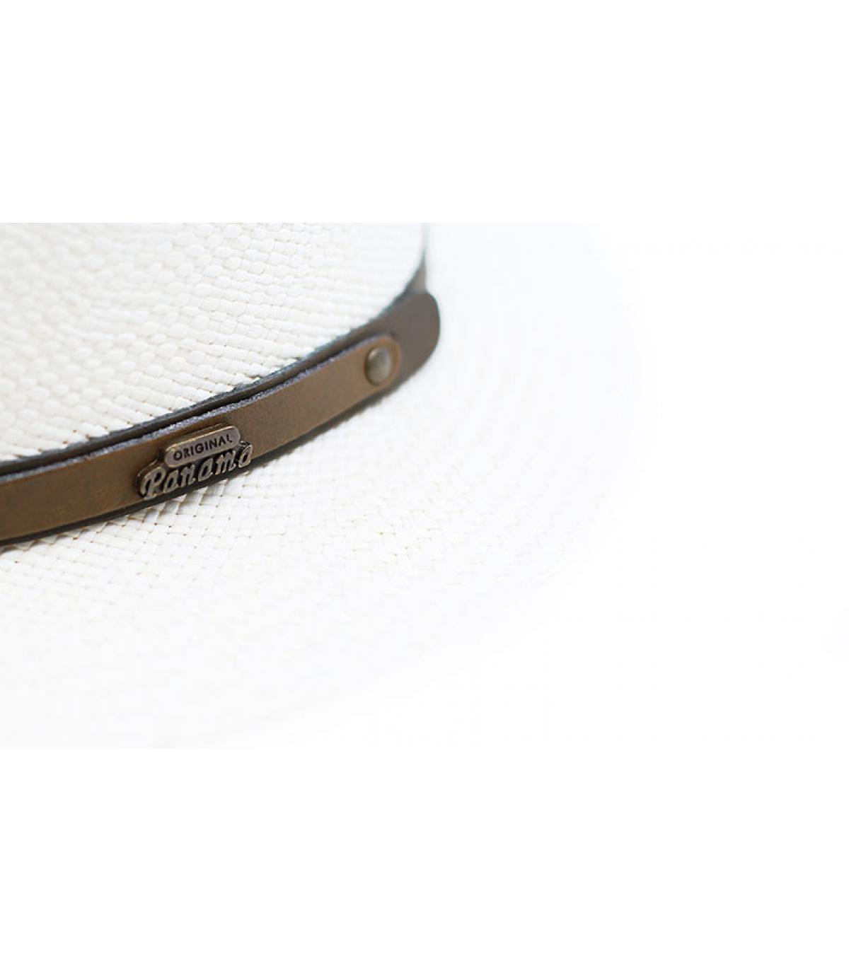 Details James Panama Brisas Superieur blanchi - afbeeling 3