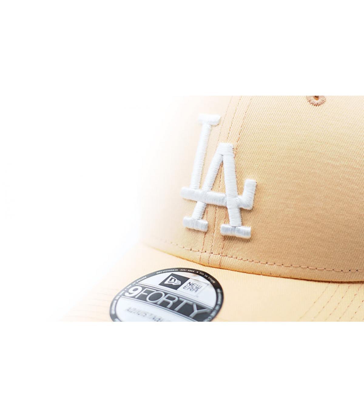 Details League Ess 9Forty LA peach white - afbeeling 3