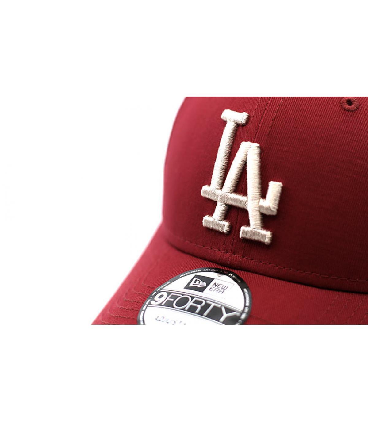 Details League Ess 9Forty LA cardinal stone - afbeeling 3