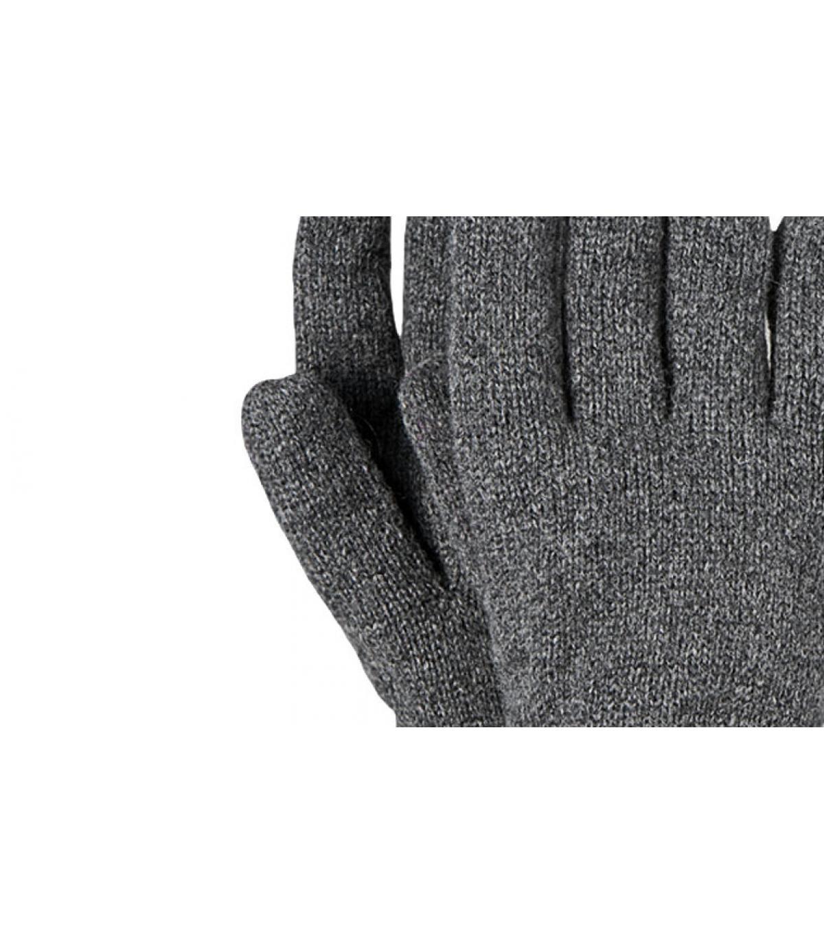 Grijze haakon handschoenen