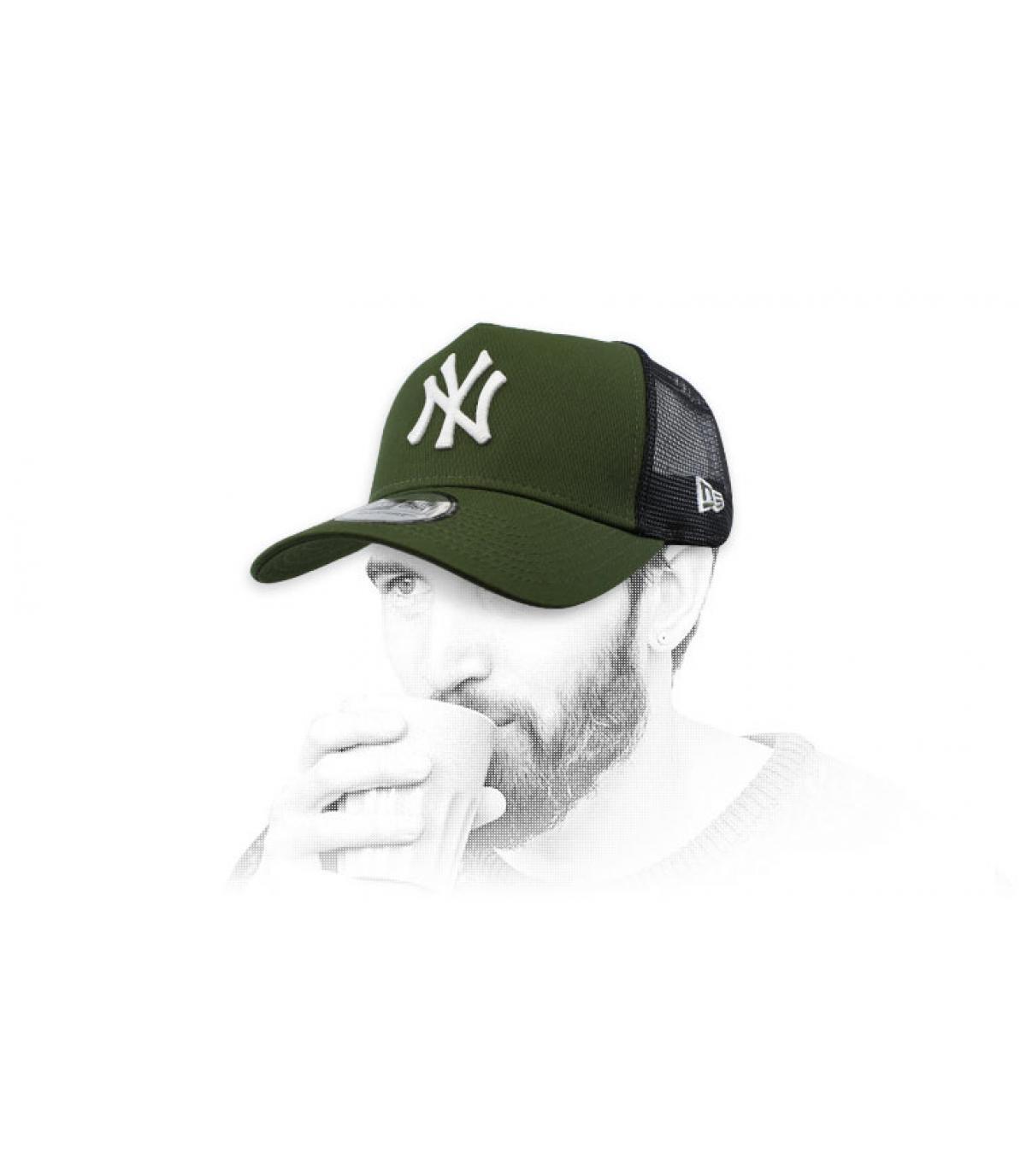 groene NY-trucker