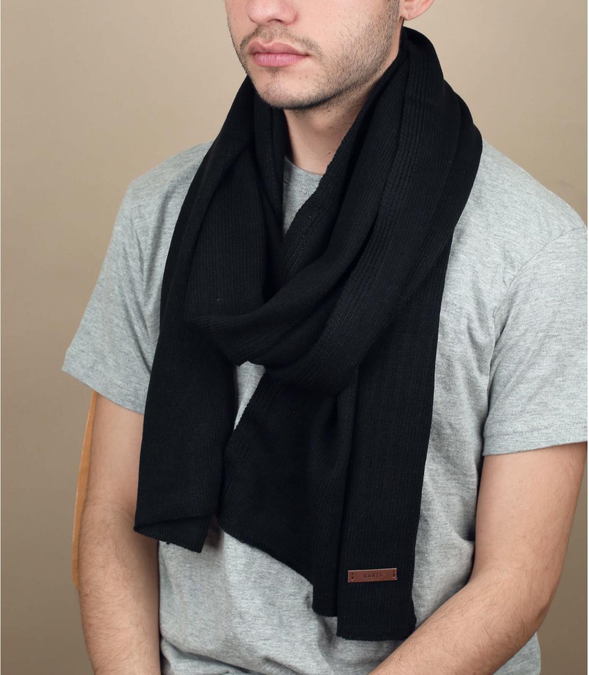 Zwarte james sjaal