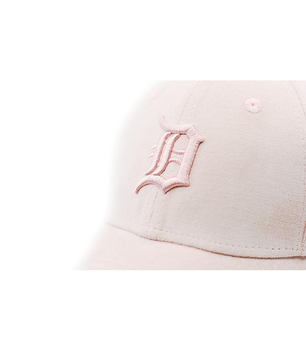 Details Female Micro Cord Detroit pink - afbeeling 3