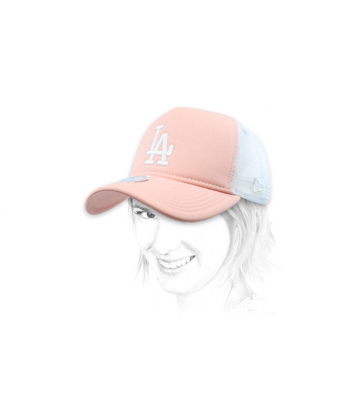 trucker LA rose vrouw