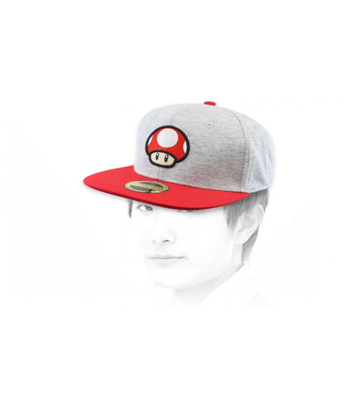 paddestoel snapback Mario