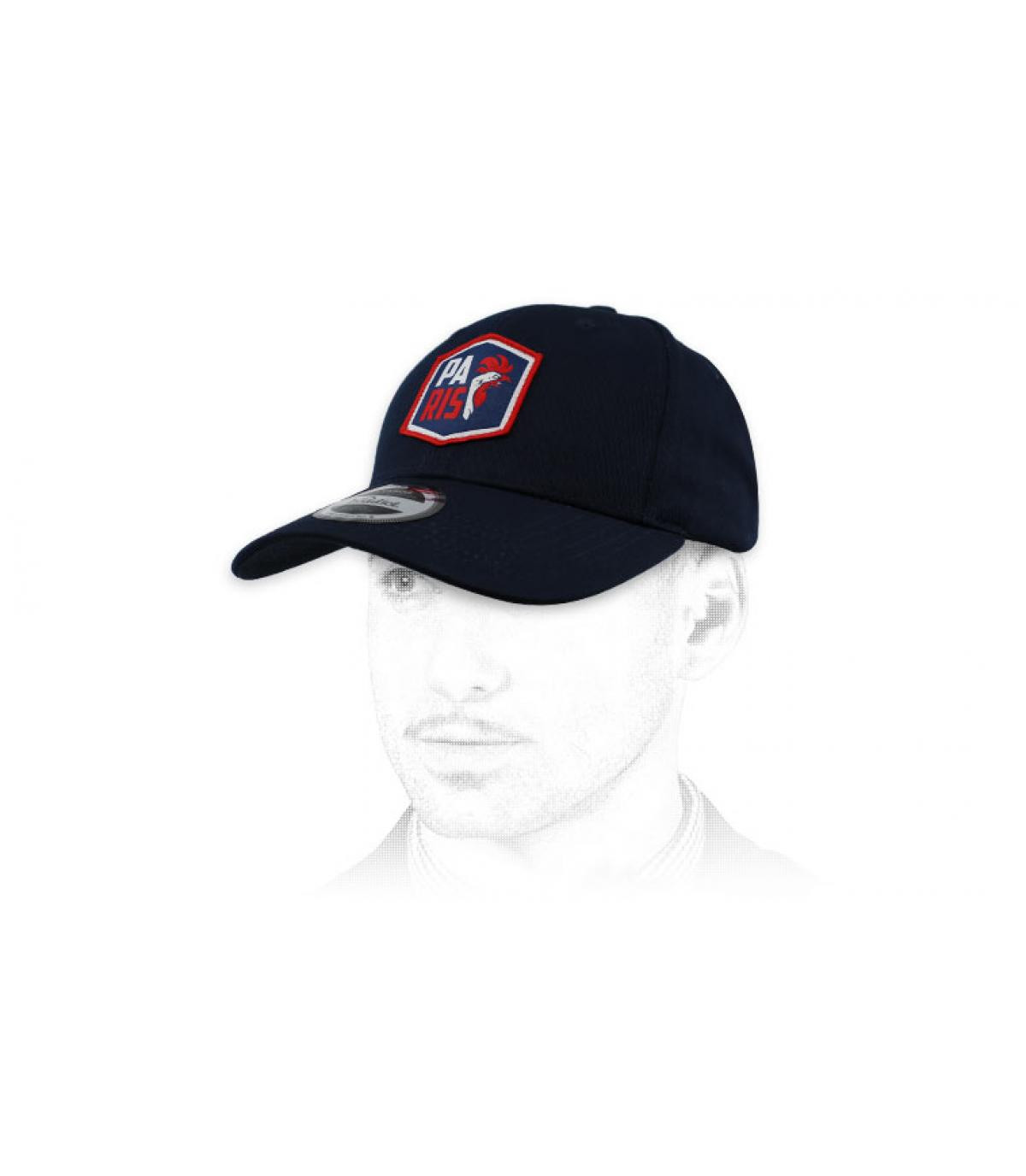 blauwe cock cap