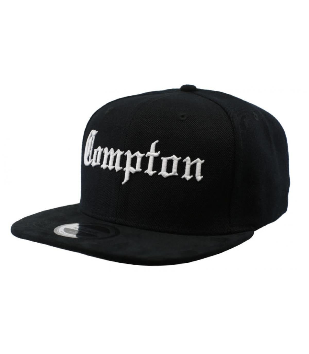 zwarte Compton snapback