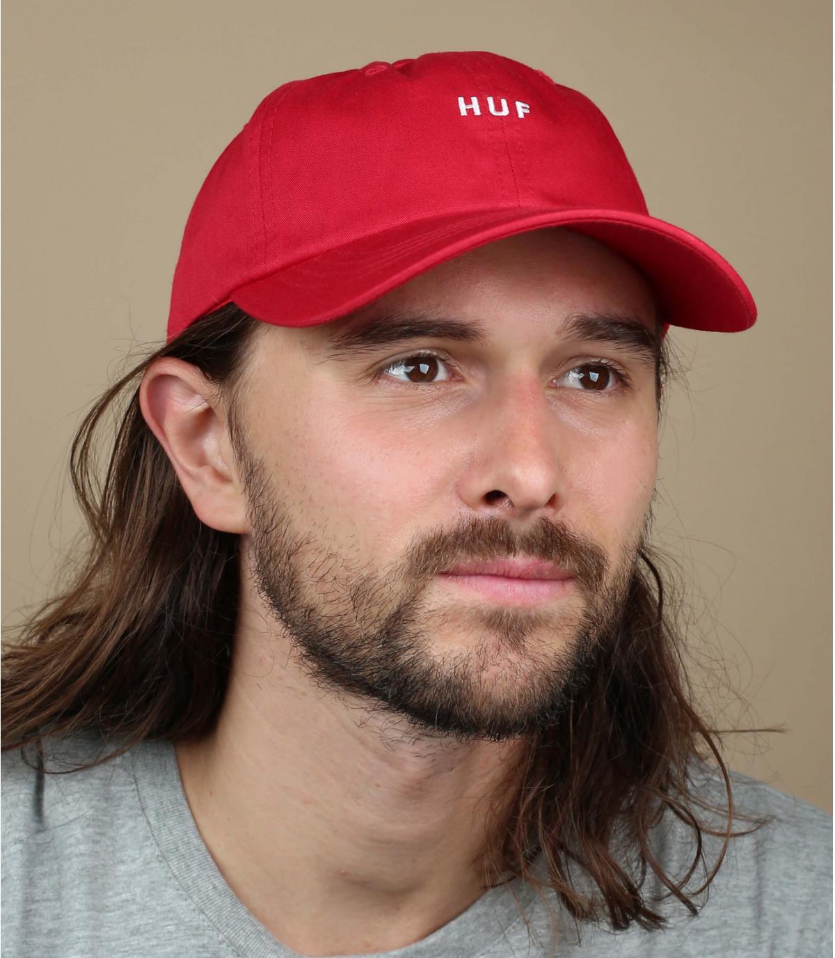 rode Huf-dop