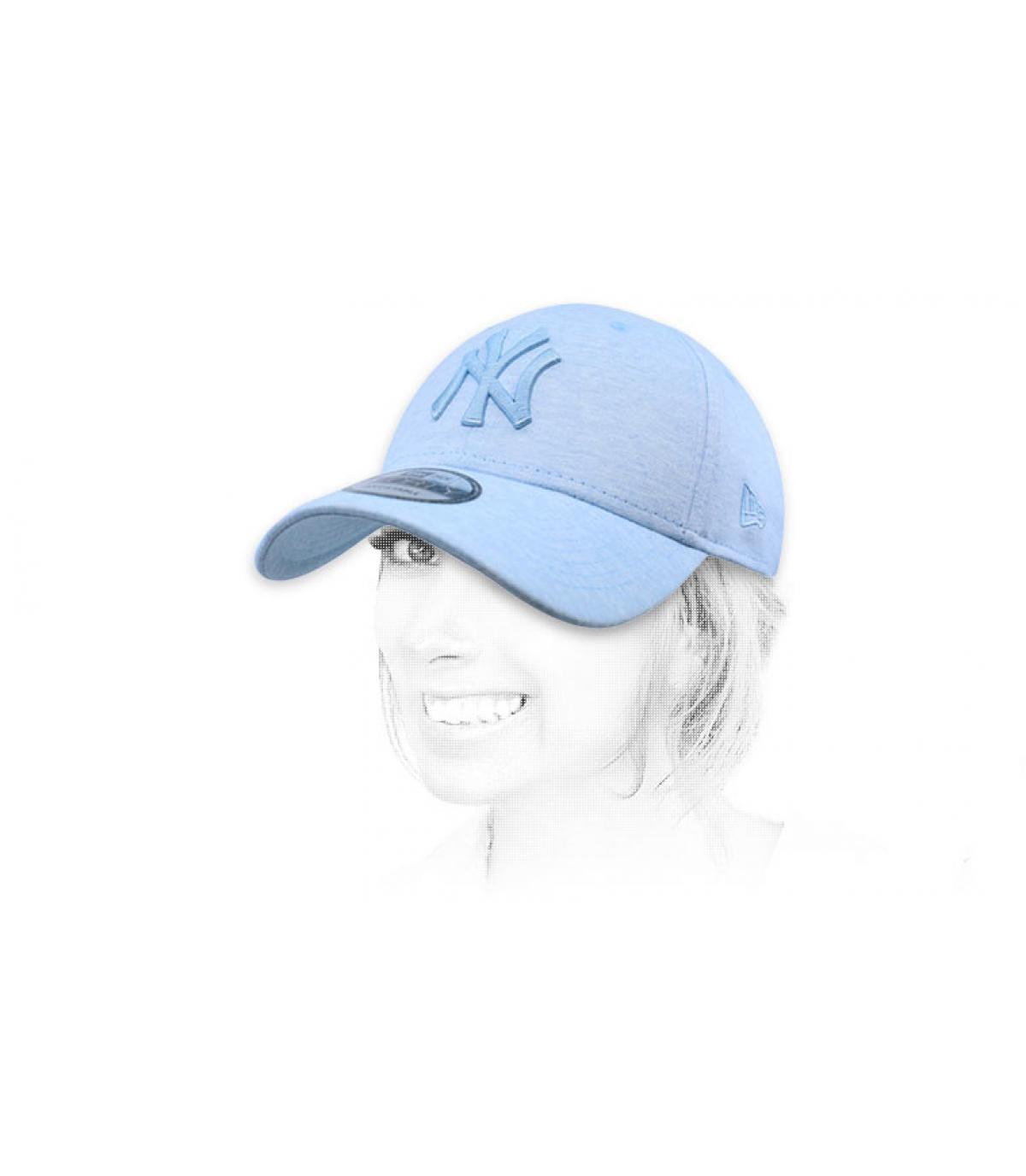 NY blauwe hemel cap