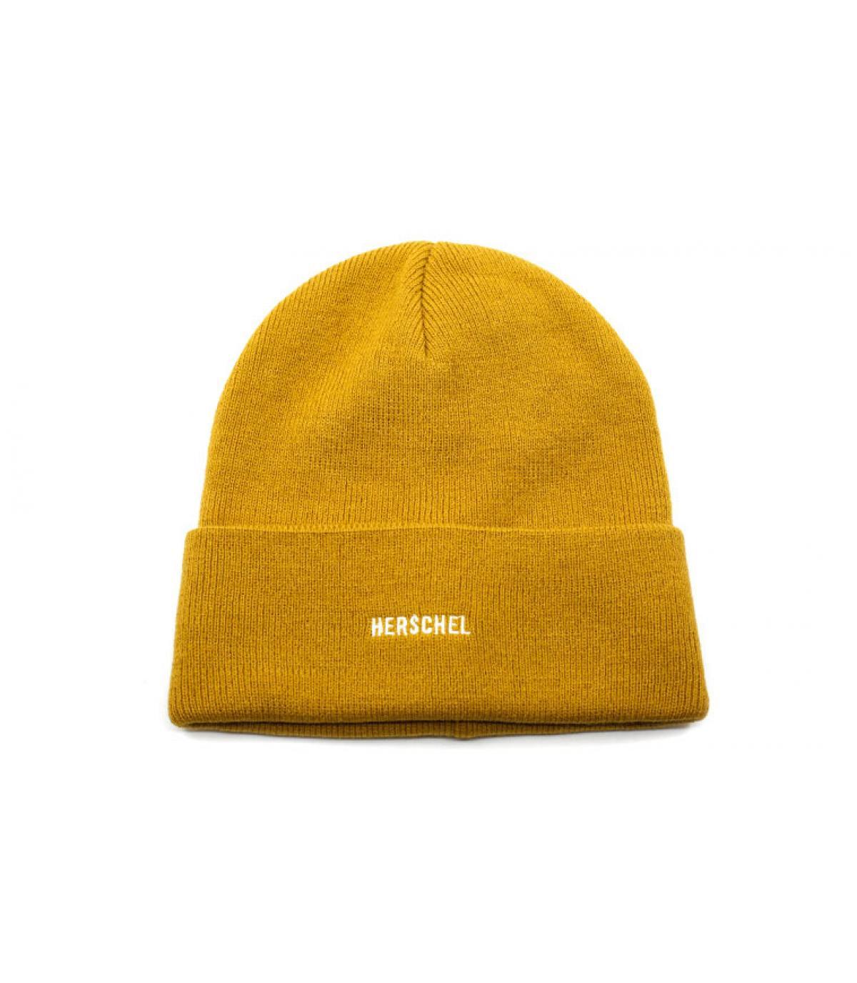 gele omkeerbare hoed van Herschel