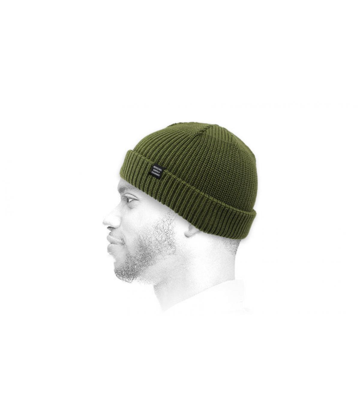 groene havenhut Herschel