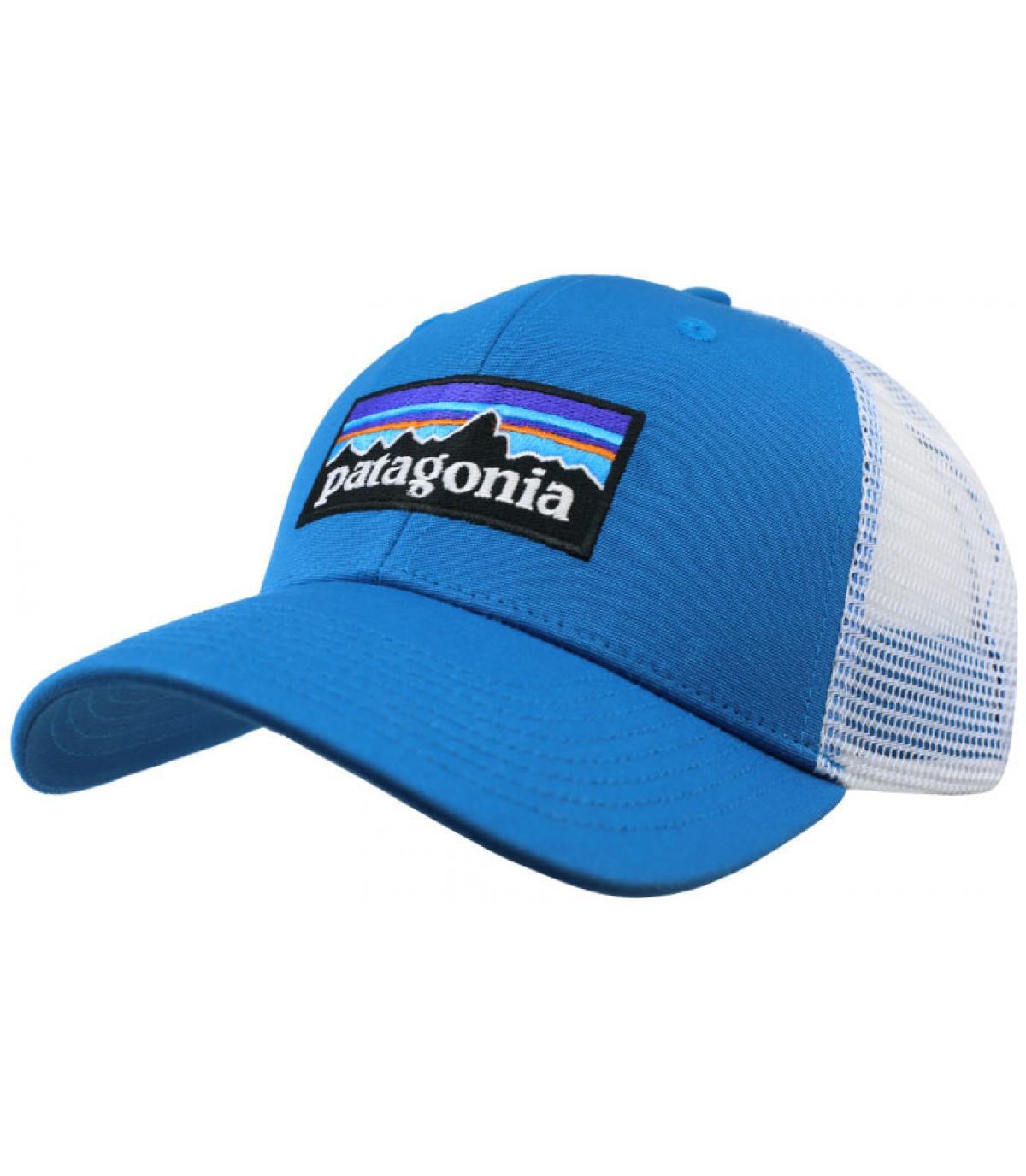 blauwe trucker Patagonië