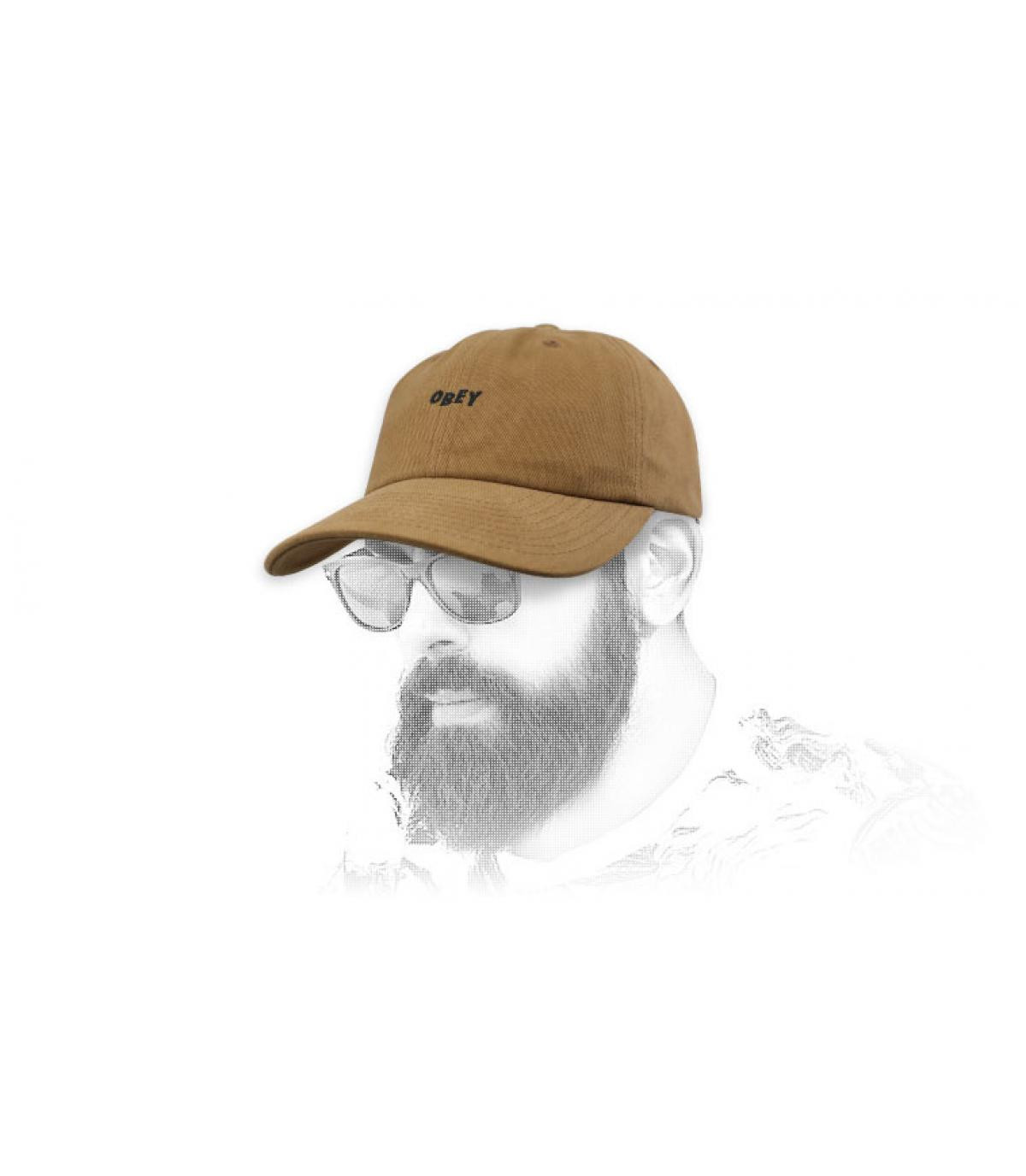 Bruin Obey curve cap