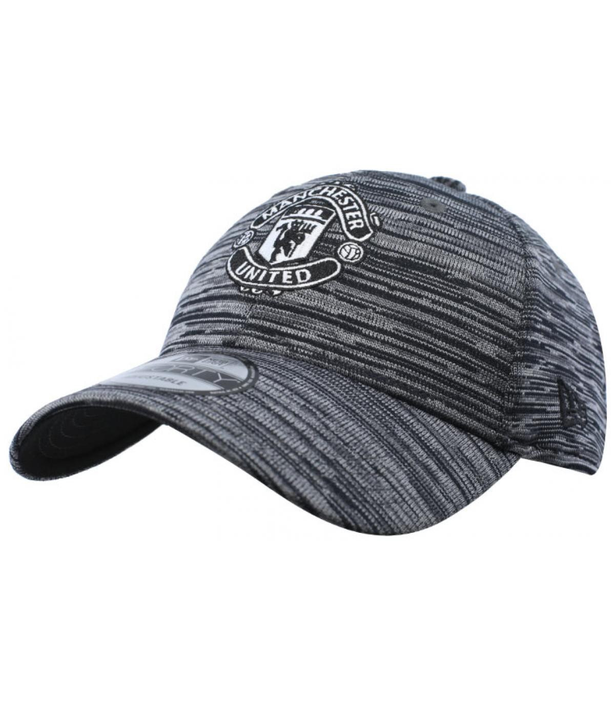 zwarte Manchester cap
