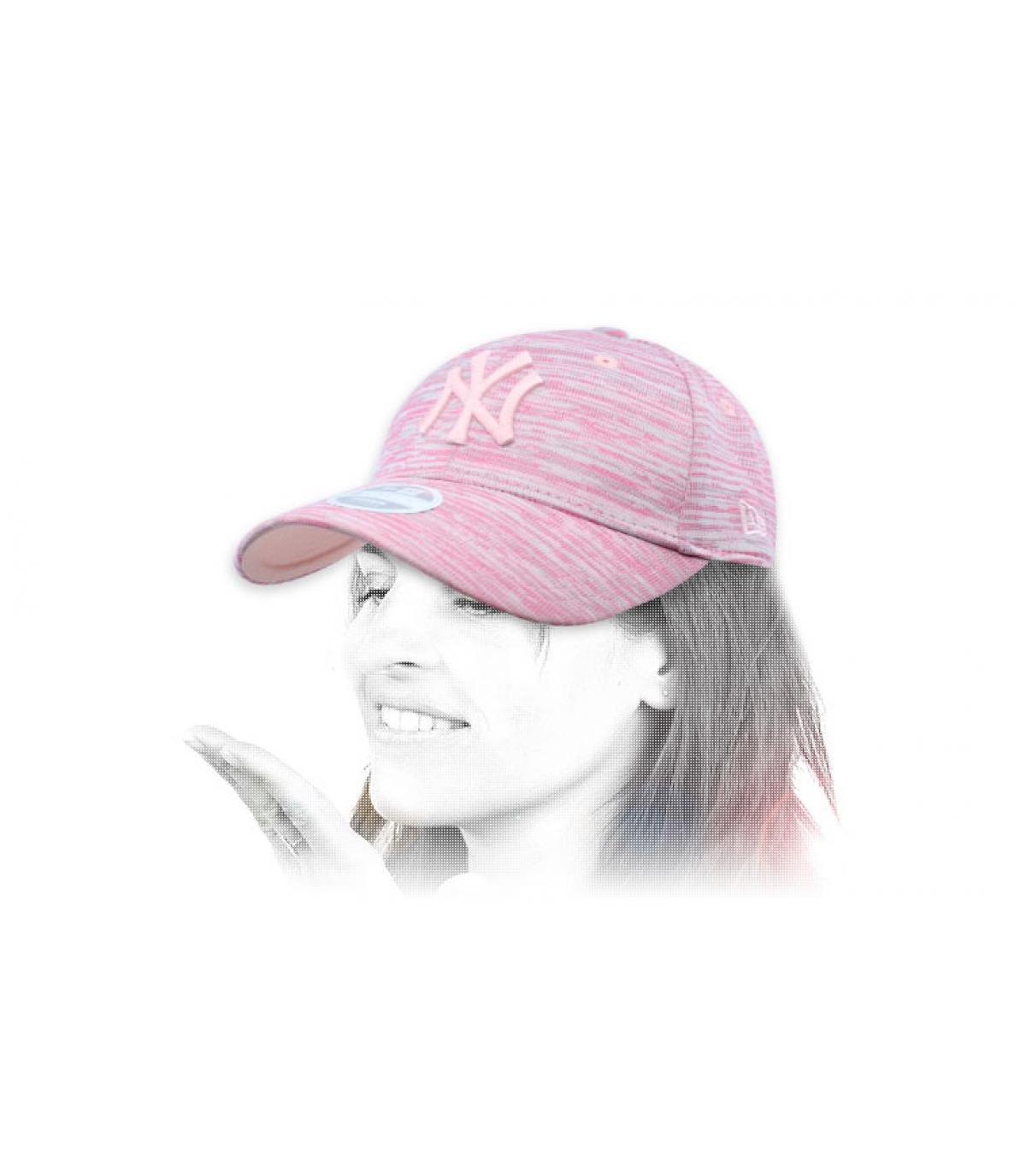 NY ontworpen roze dameskap