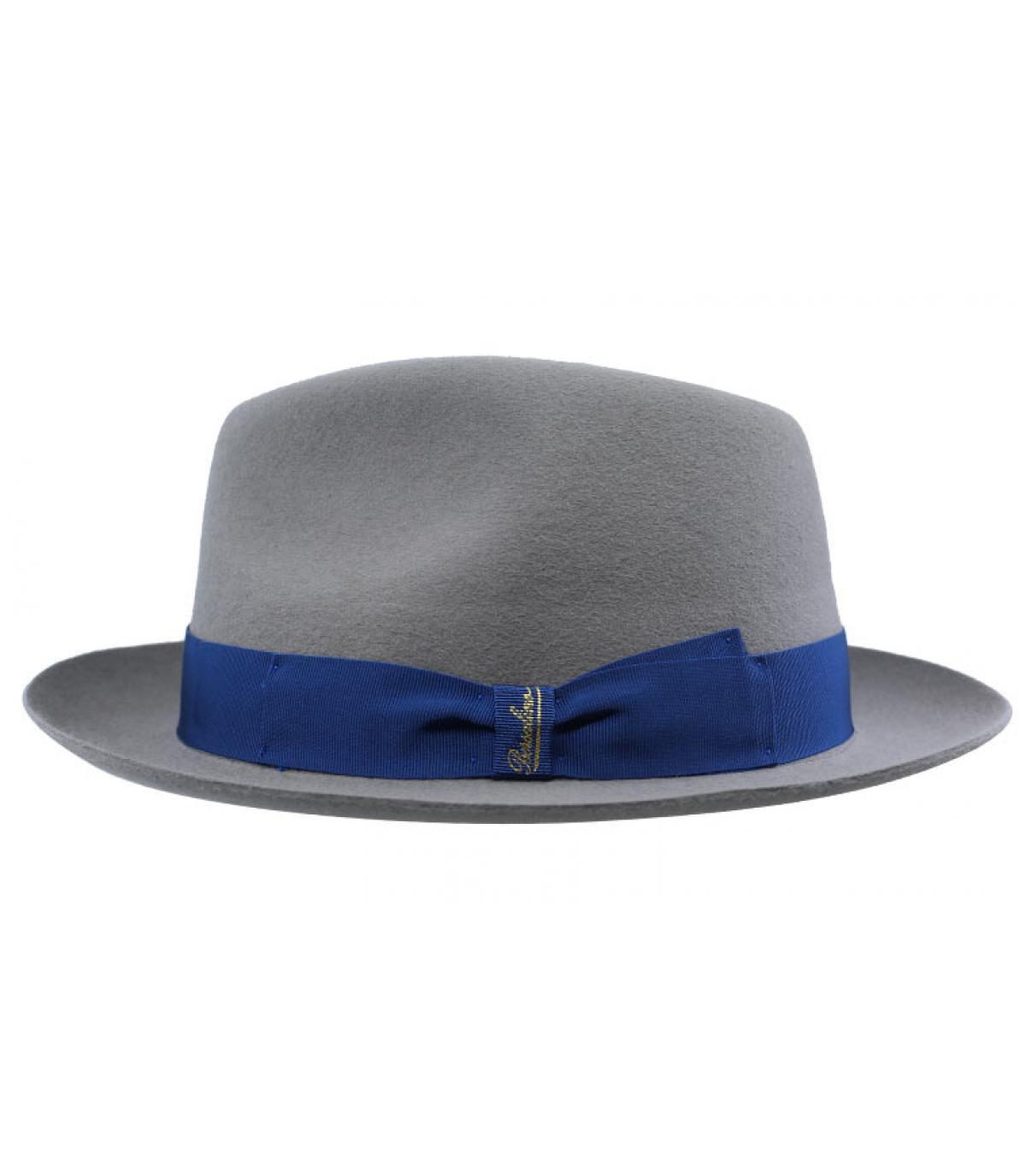 Details Grey Fur Felt Hat - afbeeling 2