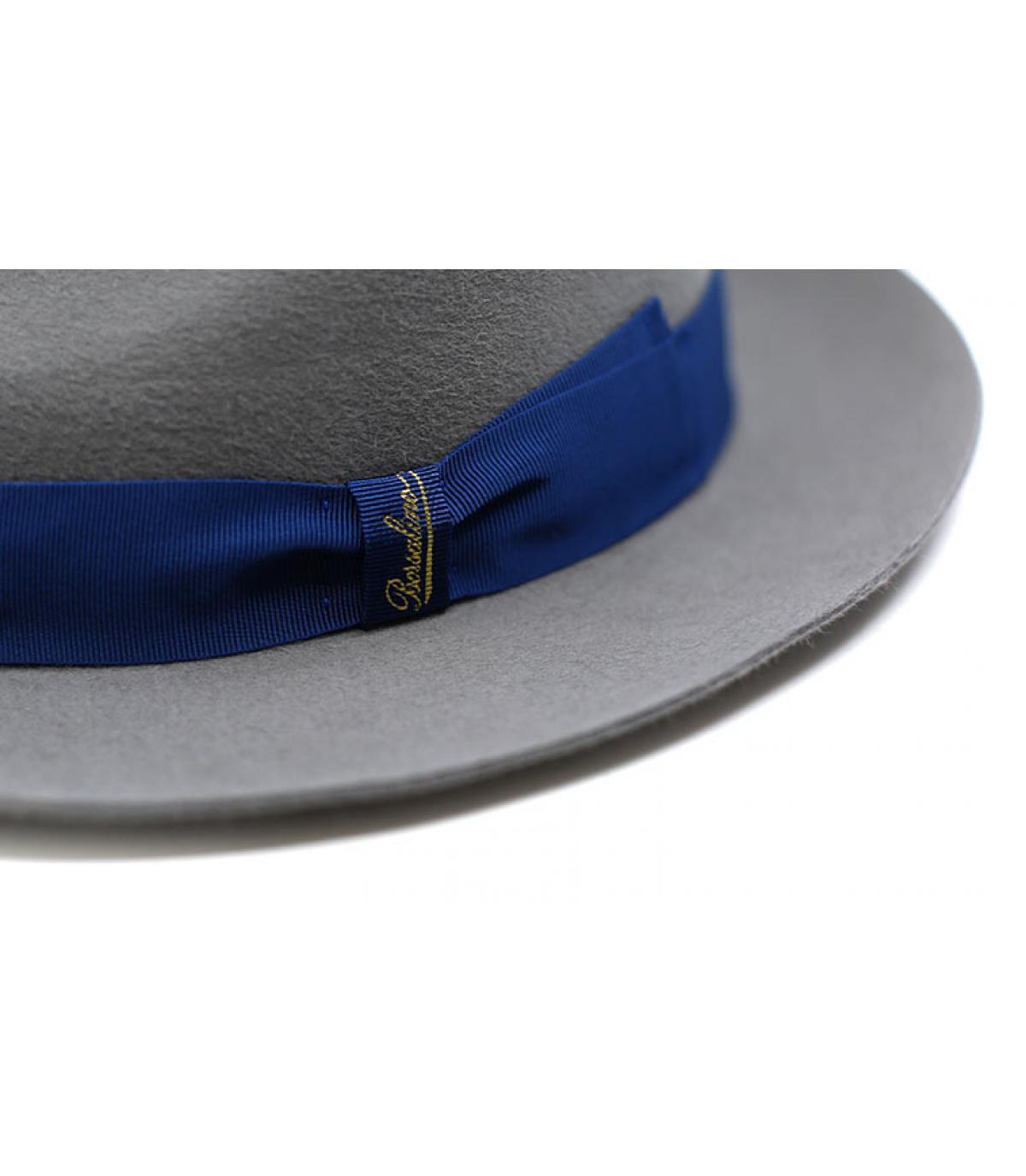 Details Grey Fur Felt Hat - afbeeling 3