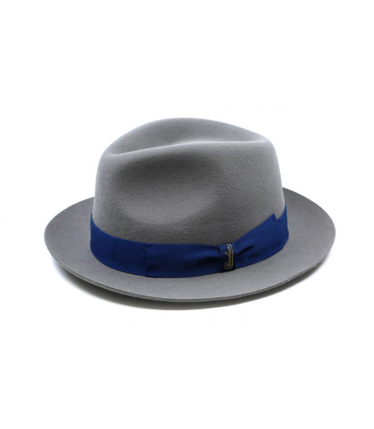 Details Grey Fur Felt Hat - afbeeling 4
