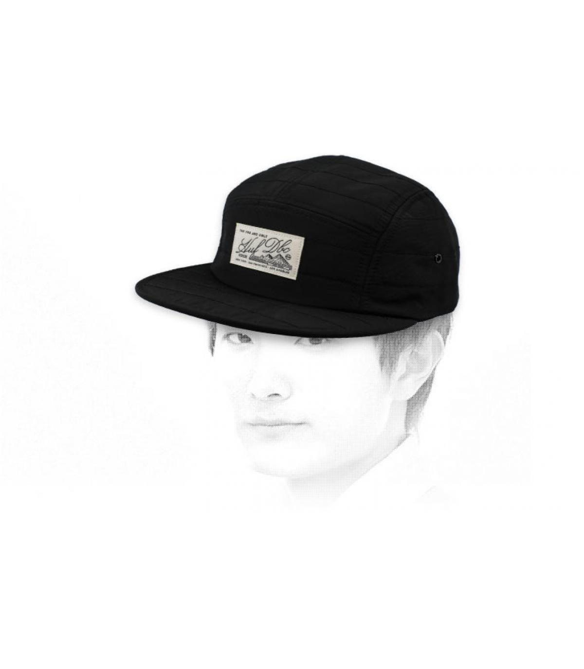 Huf cap 5 zwart paneel