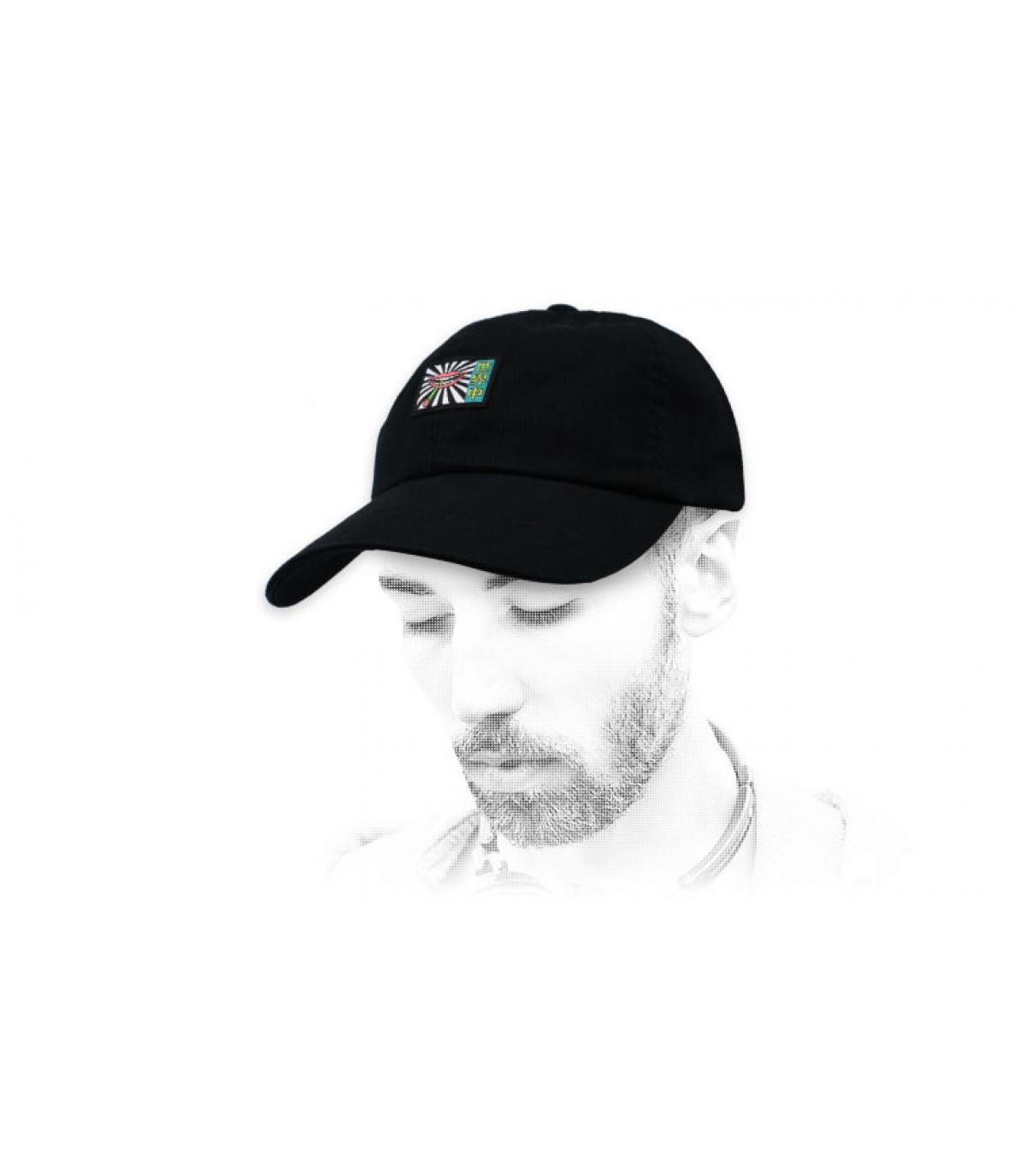 Huf zwarte lip cap