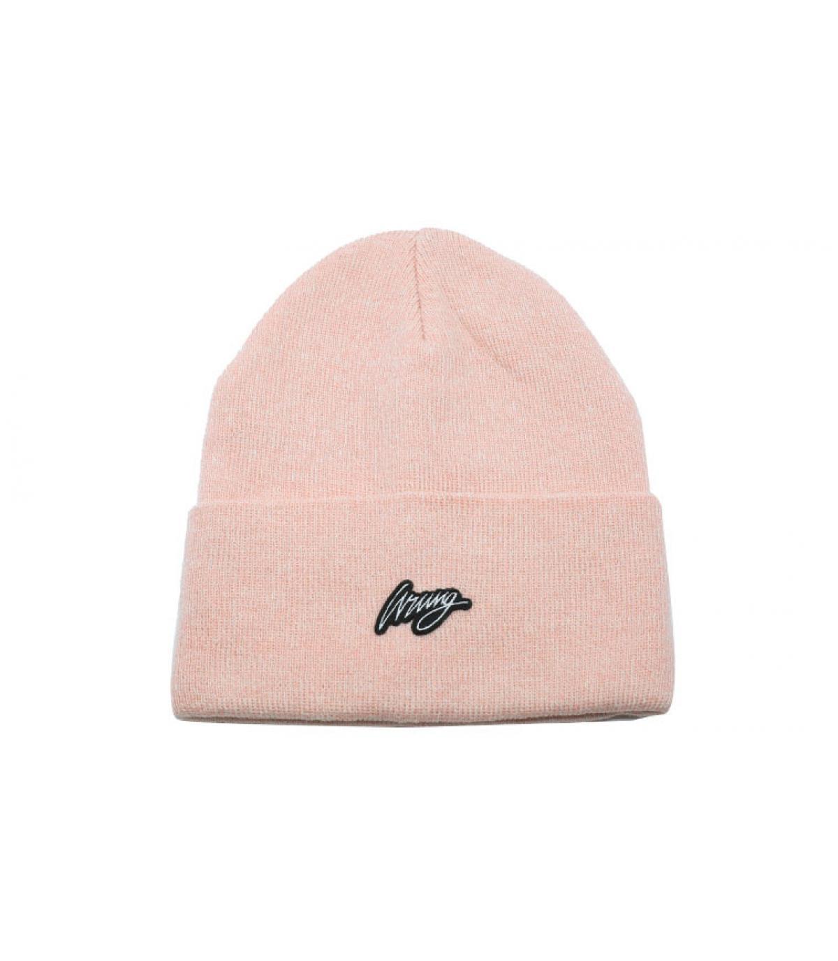 Details Trill Beanie heather pink - afbeeling 2