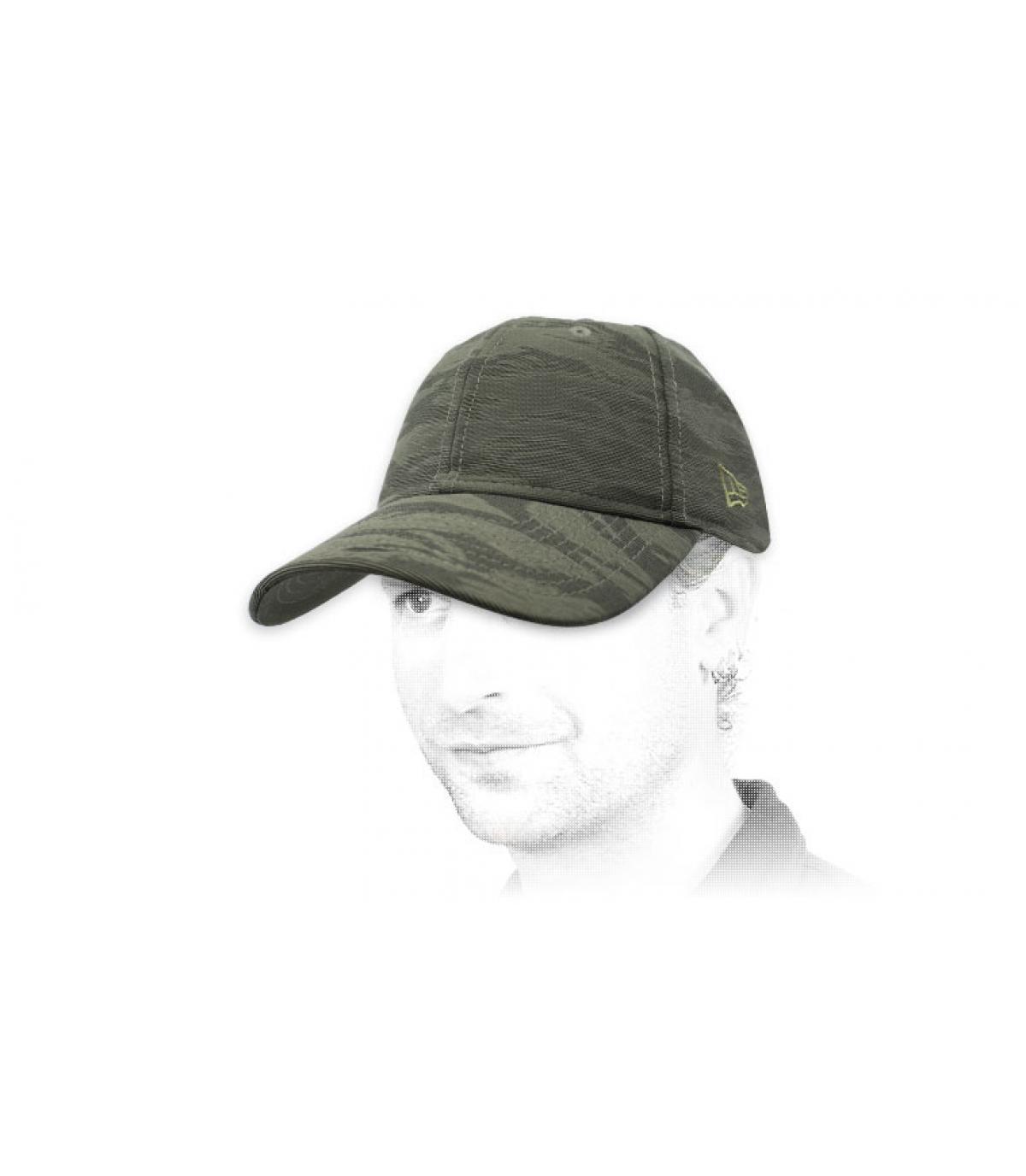 Nieuw tijdperk grijze camouflage kap