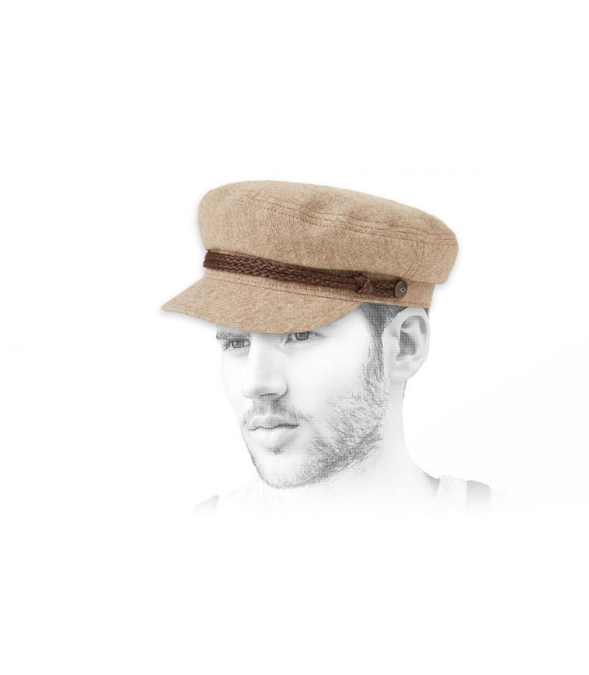 beige sailcap