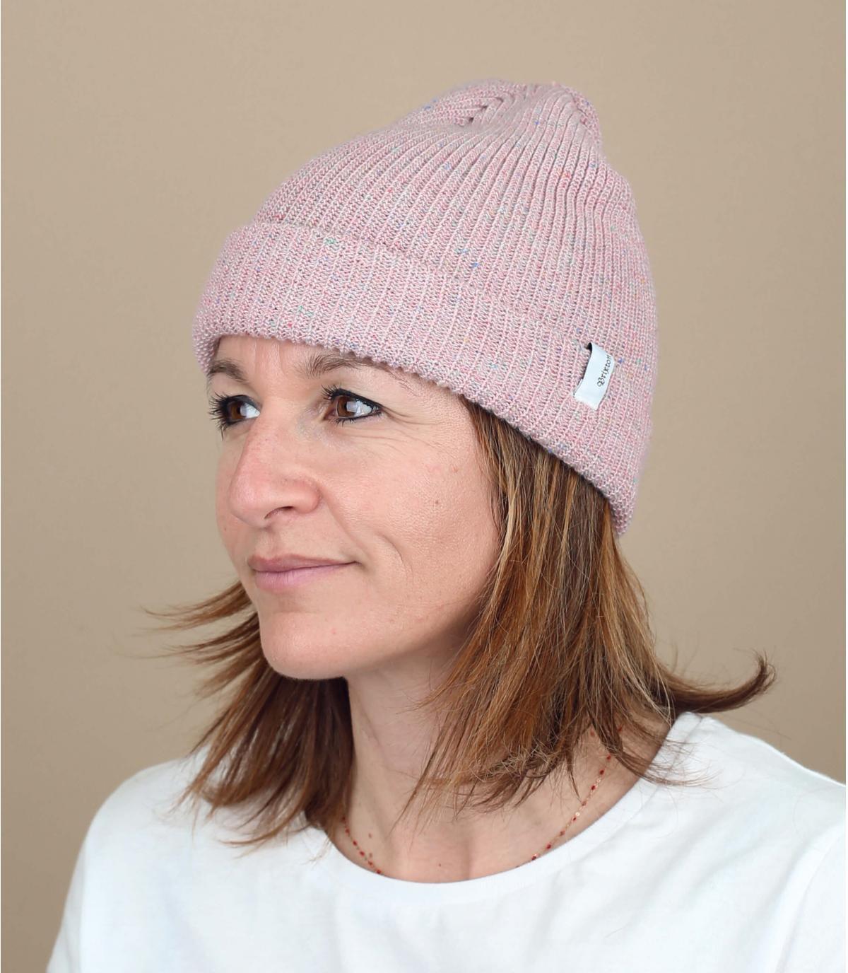 Brixton roze hoed