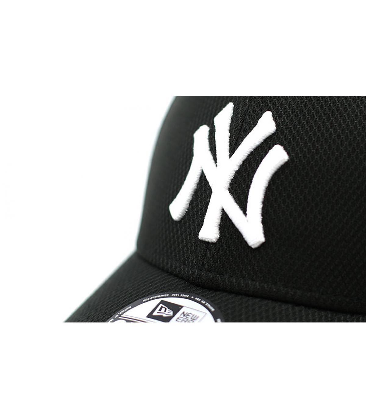 Details NY Diamond Era 9Forty black white - afbeeling 3