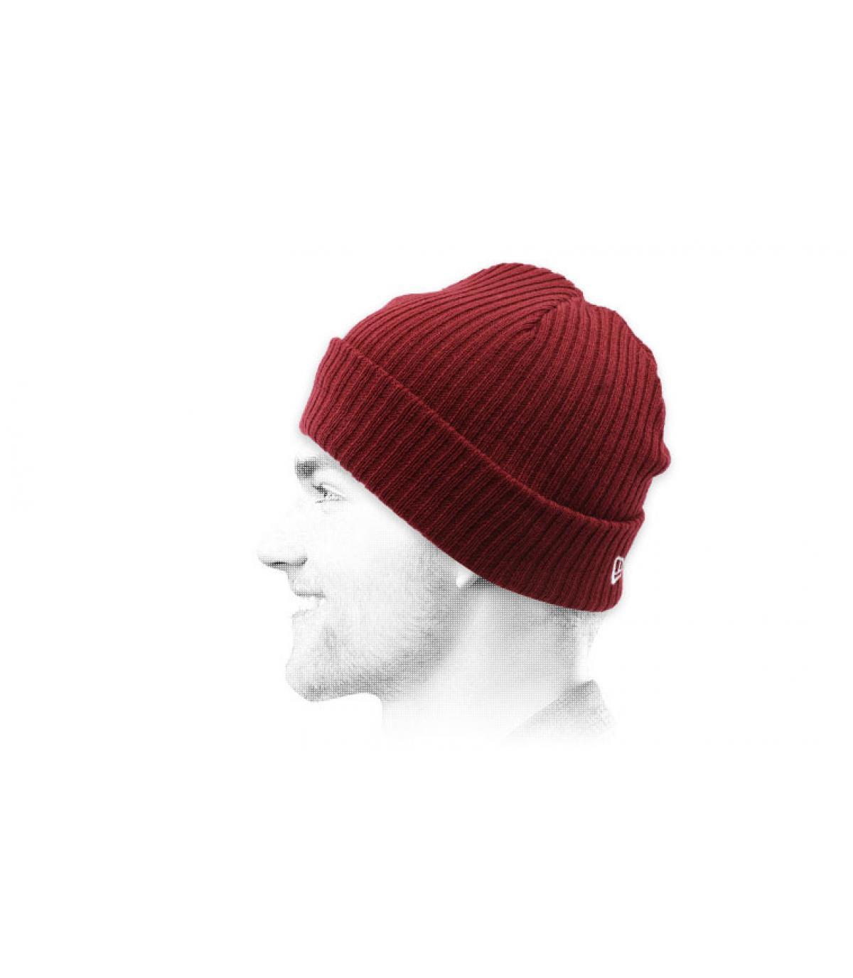 bordeaux docker hoed