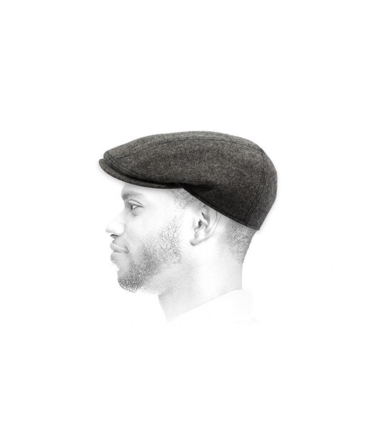 Göttmann bruine wol baret