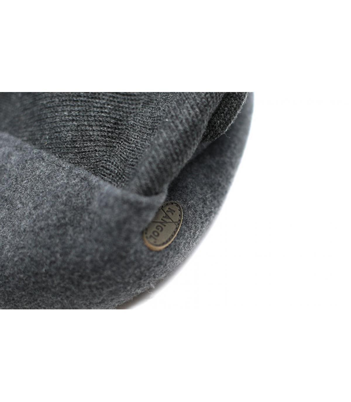 Details Wool 504 Earflap dk flannel - afbeeling 3
