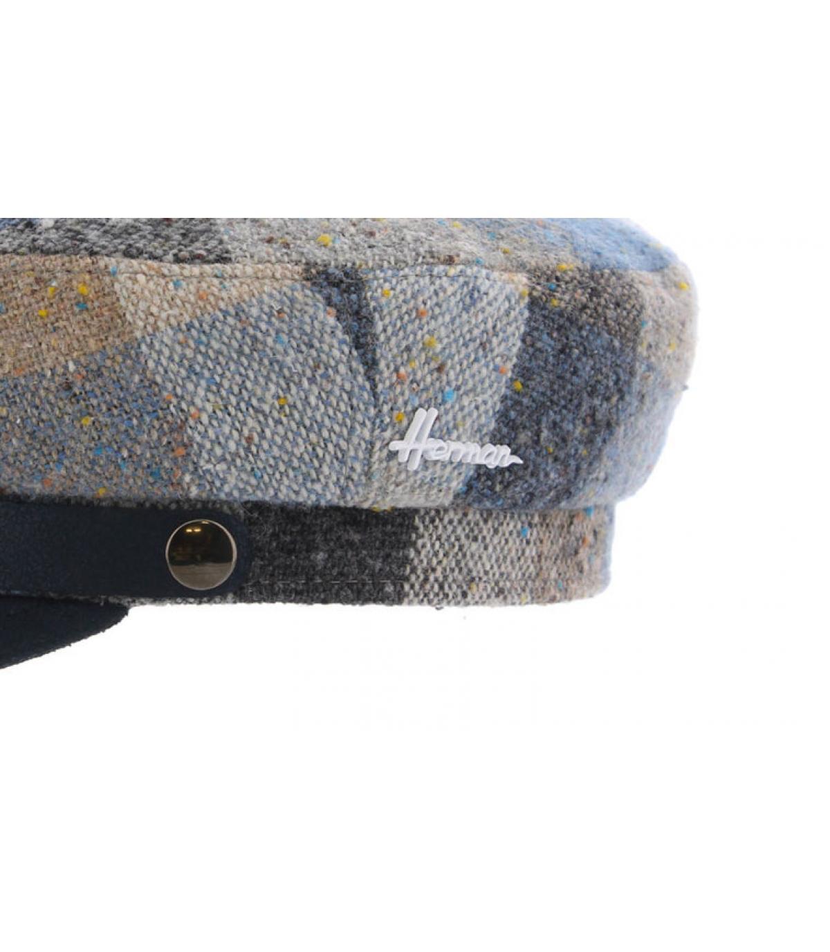 Details Marins Wool blue - afbeeling 3