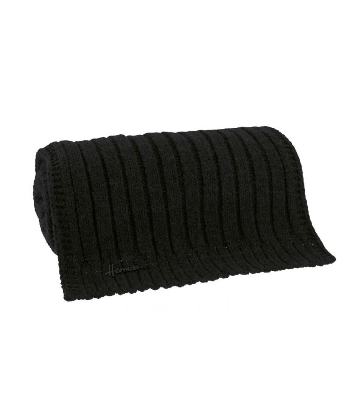 zachte zwarte sjaal