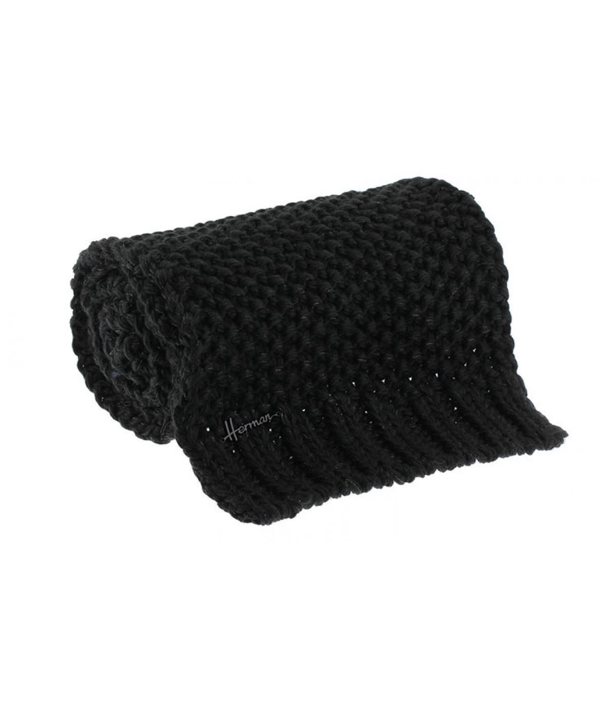 zwarte lurex sjaal
