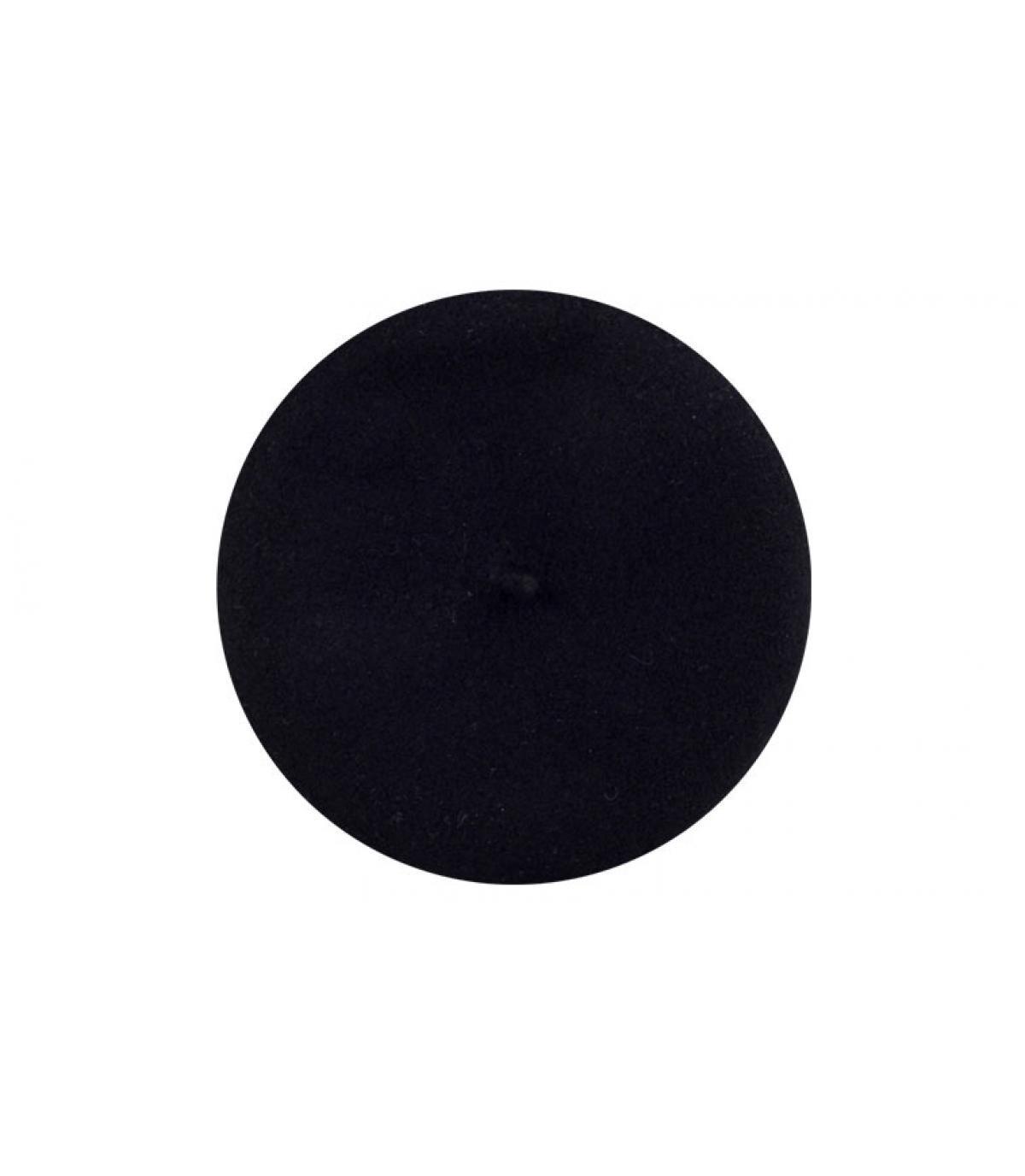 Zwarte Parijse baret