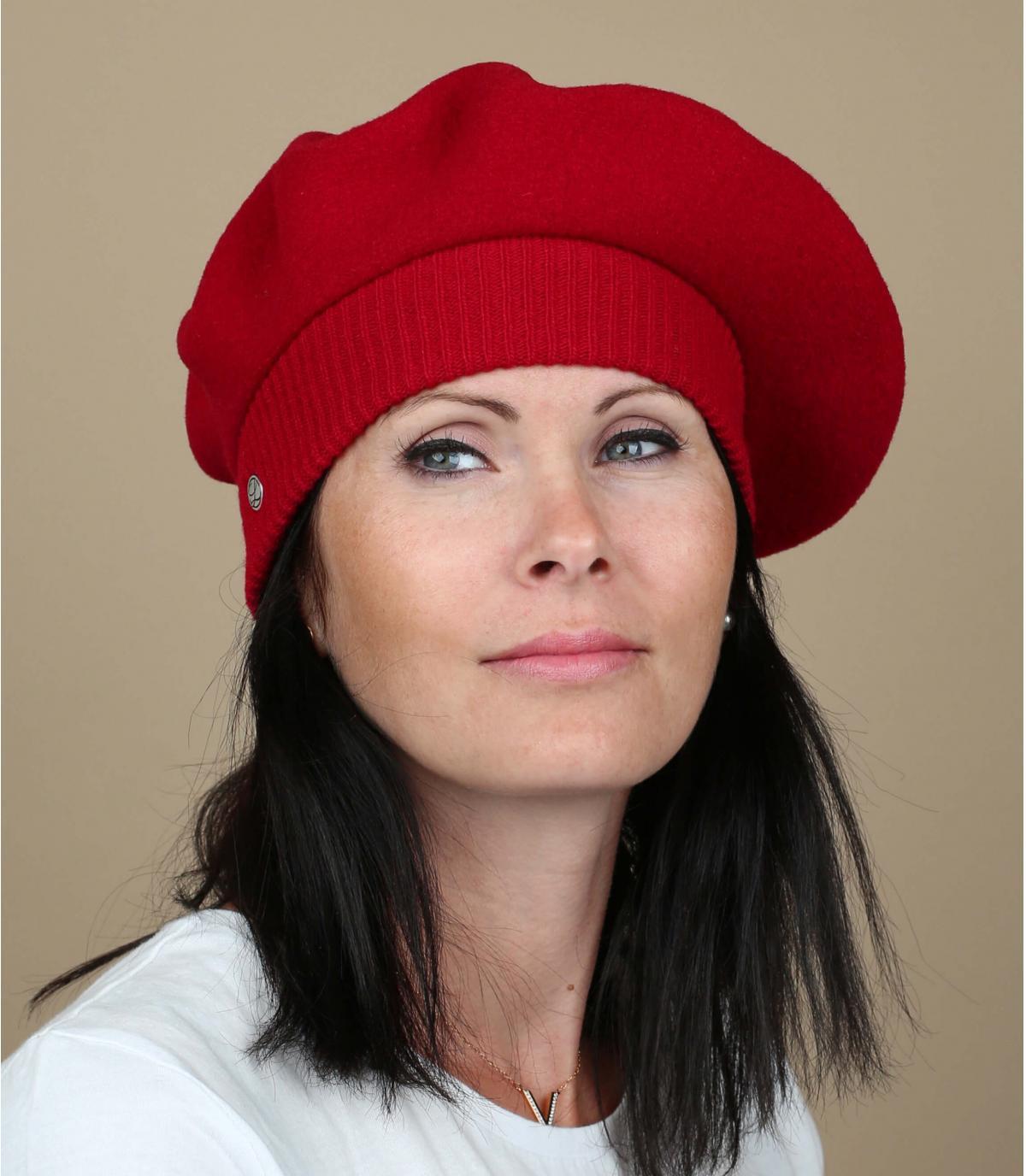 Rode Parijse baret
