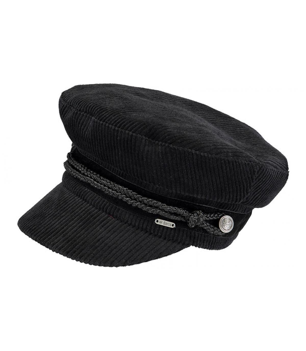 zwarte zeemanpet Barts - Odessa Cap black van Barts. Headict 4d1e072b9cdd