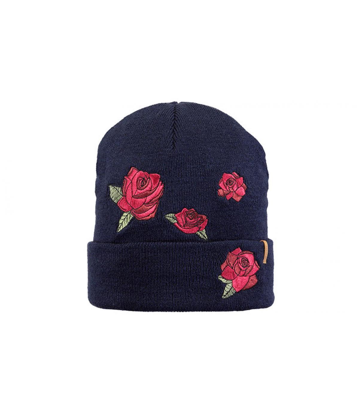 blauwe bloemen hoed Barts
