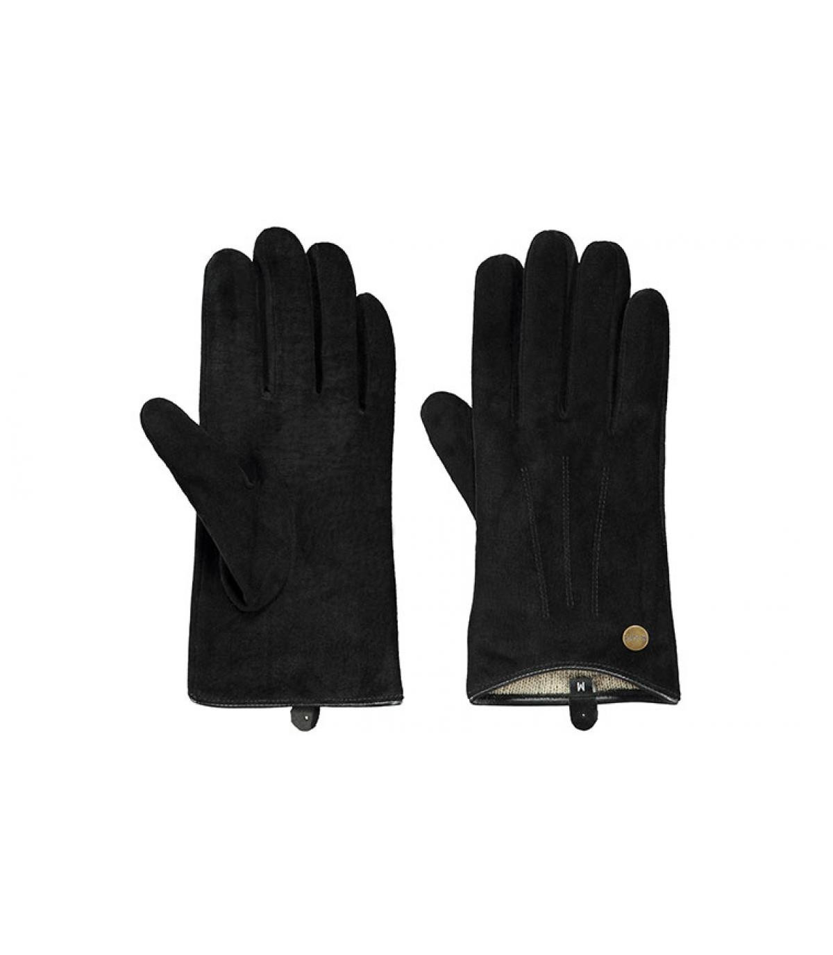 Details Christina Gloves black - afbeeling 2