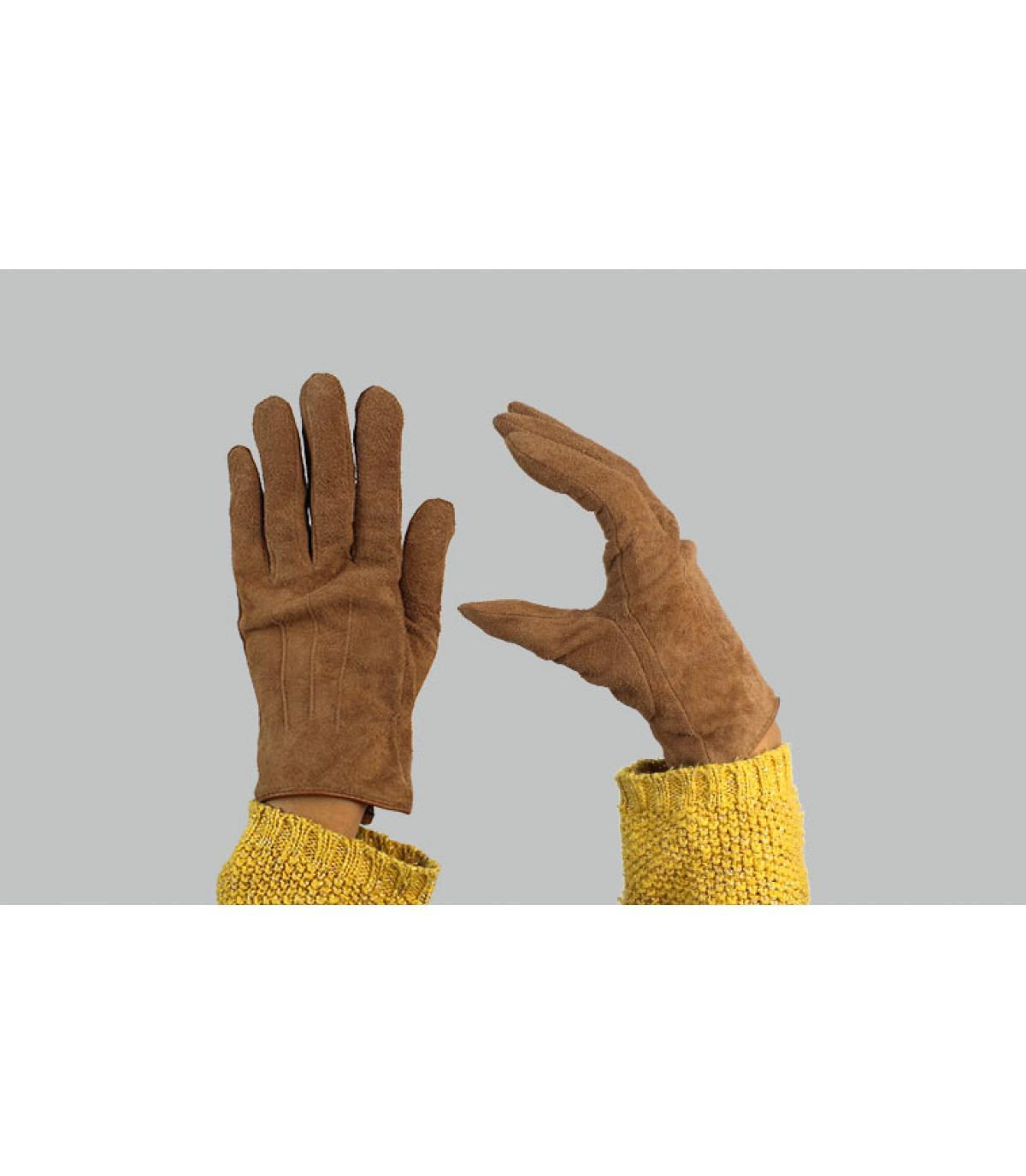 barts bruine dameshandschoenen