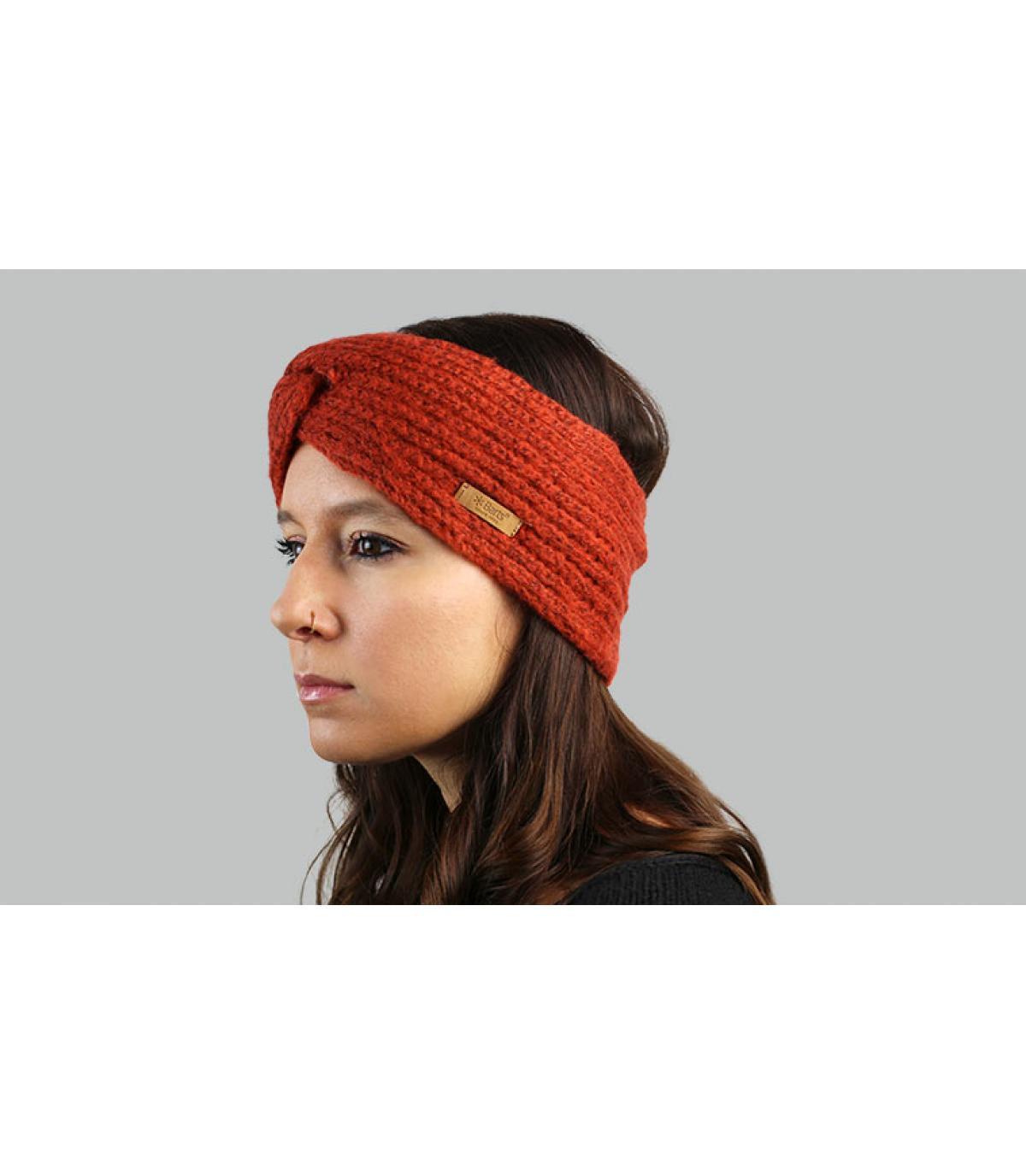 Barts oranje hoofdband