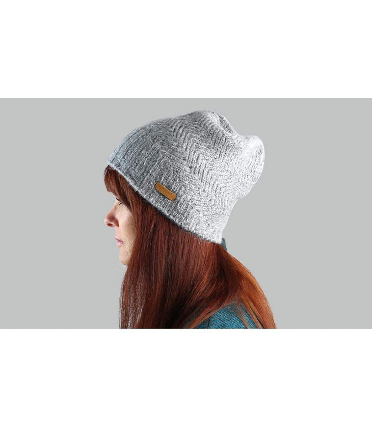 Barts grijze lange hoed