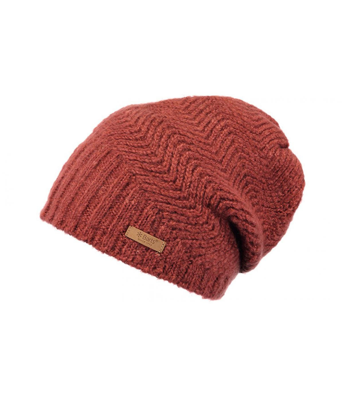 Details Cecilia Beanie rust - afbeeling 2