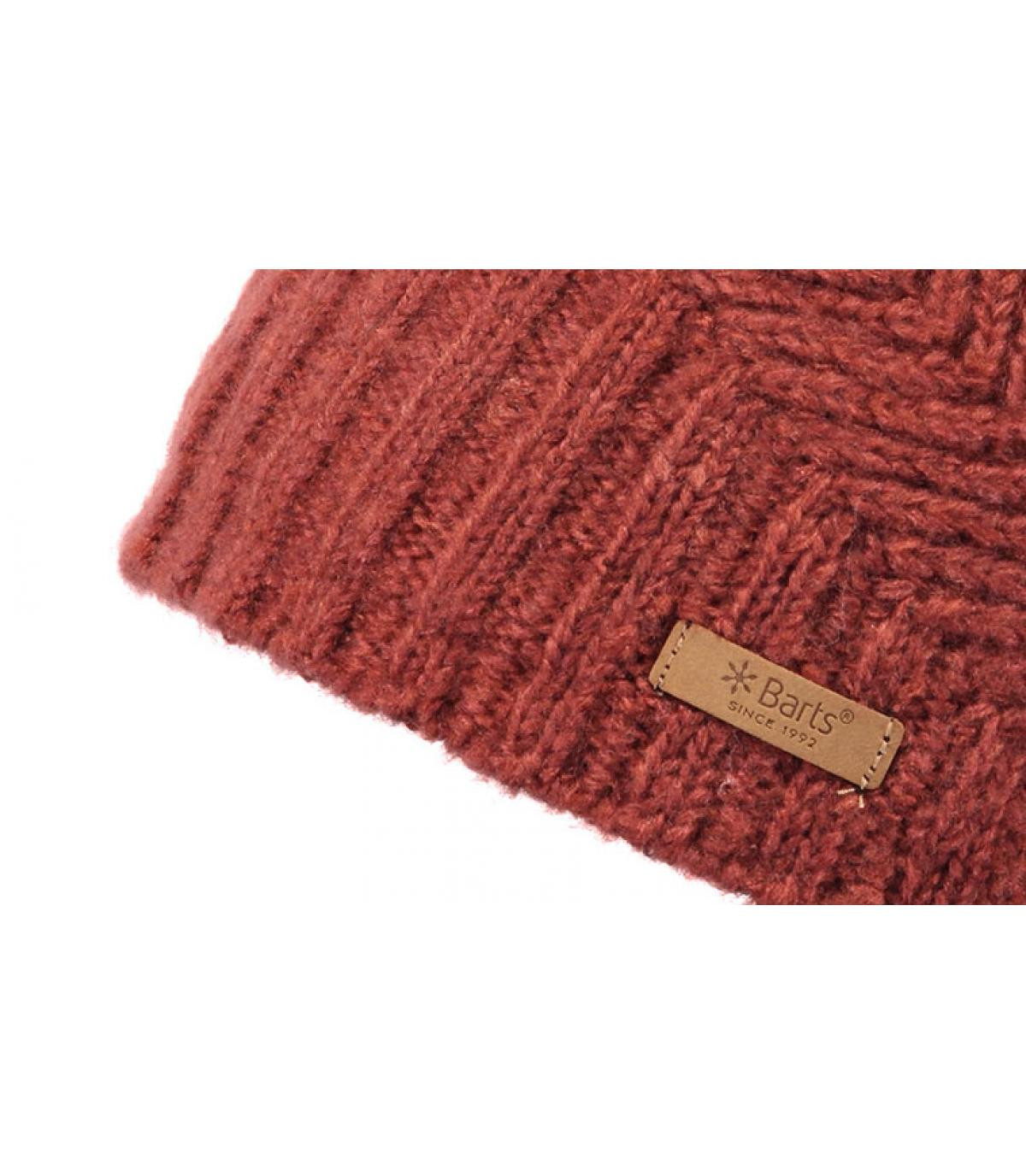 Details Cecilia Beanie rust - afbeeling 3