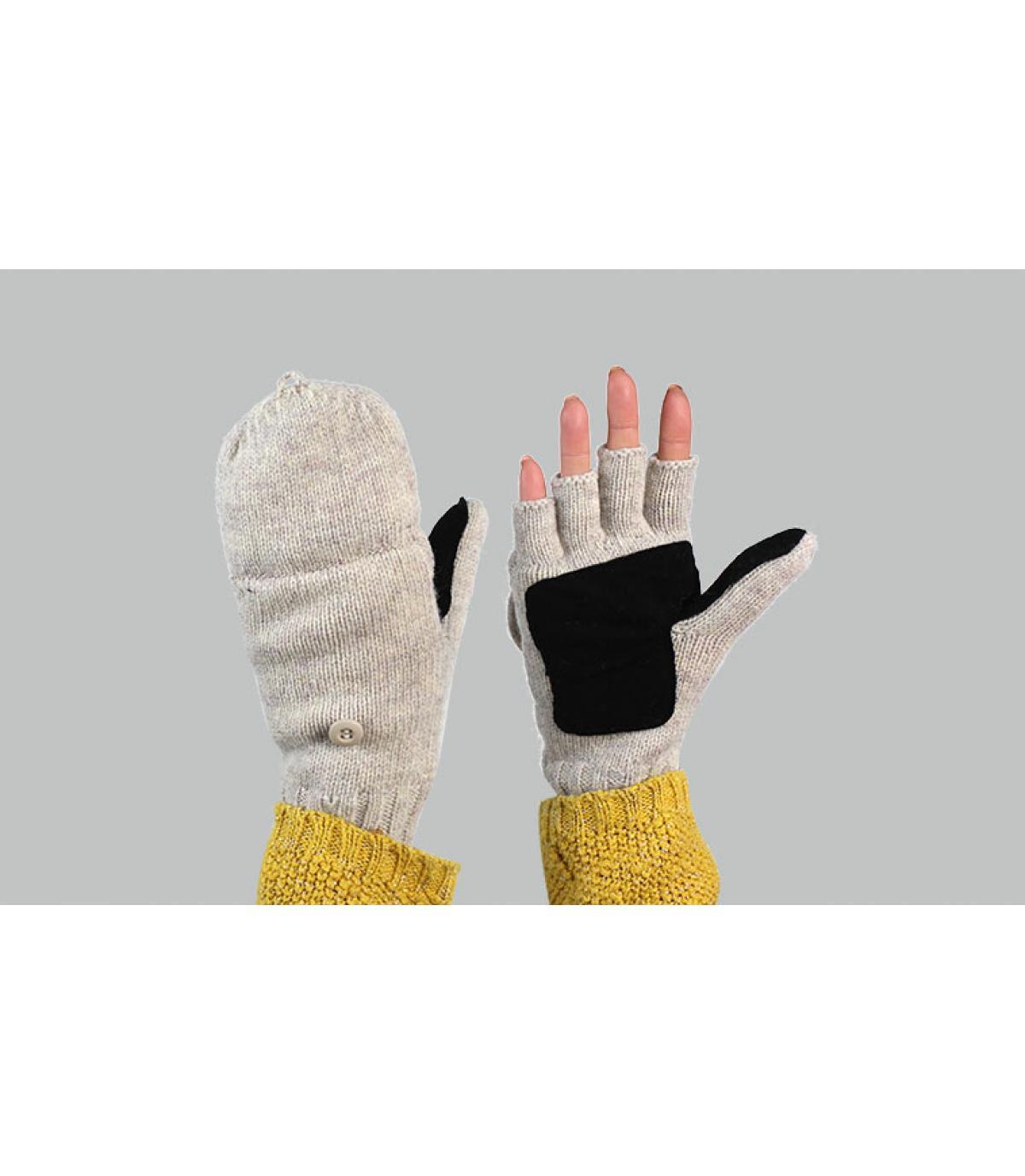 handschoenen wanten vrouw grijs